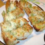Чеснови хлебчета с кашкавал