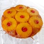 Обърнат сладкиш с ананас и коктейлни черешки (Pineapple Upside-Down Cake)