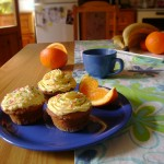 Портокалови кексчета