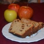 Ябълков кейк с боровинки