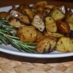 Запечени картофки с балсамов оцет
