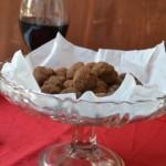 Шоколадови трюфели с червено вино