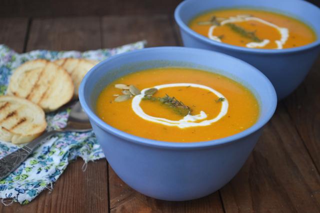 Лесна рецепта за крем супа от моркови
